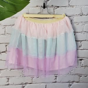 Carter's 🦄 Rainbow Tulle Layered Ombre Skirt